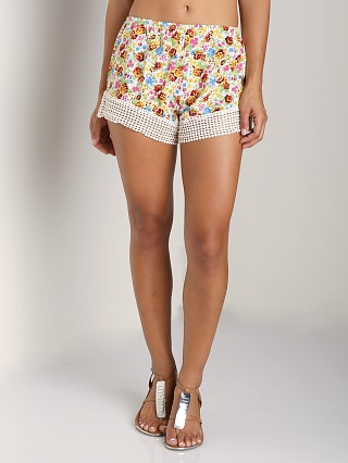 Complete the look: Jen's Pirate Booty Daisy Cheeky Shorts Vibrant Water Color