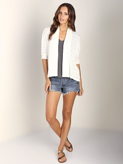 Splendid Cardigan White