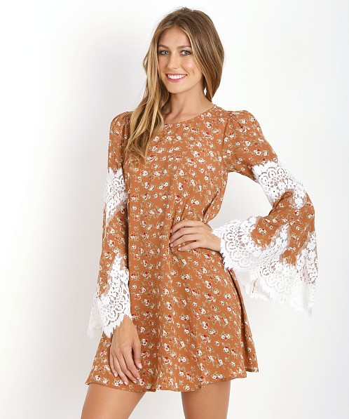 For Love & Lemons Festival Dress Country Floral