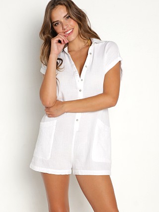 Model in white L Space Mika Romper