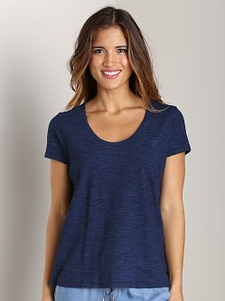 Splendid Indigo Boyfriend Tee Dark Wash