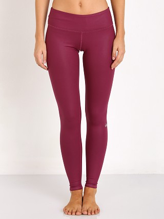 alo Airbrush Legging Berry Glossy