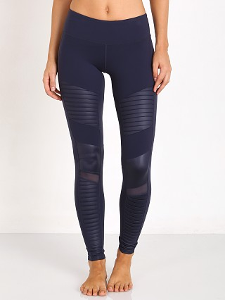alo Moto Legging Rich Navy
