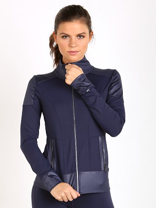 alo Moto Jacket Rich Navy