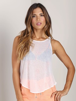 WILDFOX Cabana Girl Cassidy Tank Clean White