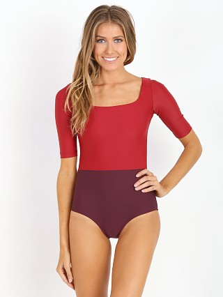Seea Zuma One Piece Burgundy