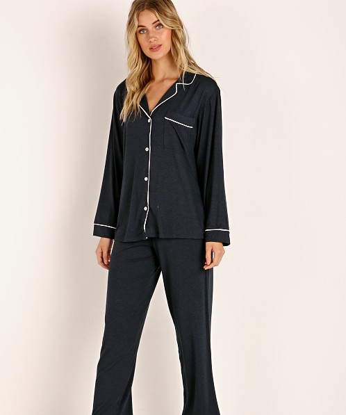 Eberjey Gisele Long PJ Boxed Set Navy/Bellini