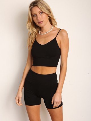 Complete the look: Indah Wafer Scoop Neck Bra Top Black