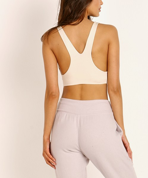 Indah Iggy Solid Seamless Bra Top Bisque