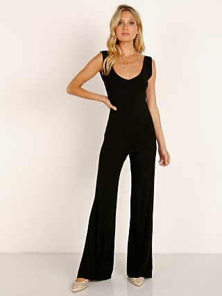 Complete the look: Indah Hazy Solid Playsuit Black