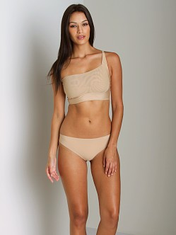 Resultwear One Shoulder Reversible Contouring Bra Nude