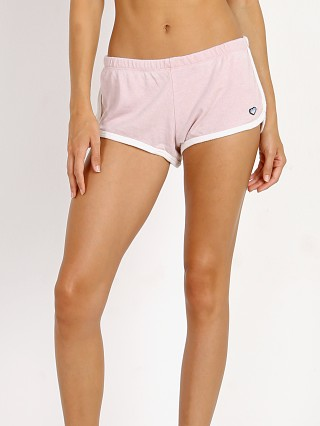 Spiritual Gangster Summer Rainbow Heart Asana Short Shell Pink