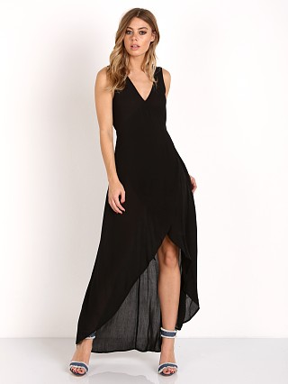 L Space Twilight Wrap Dress Black
