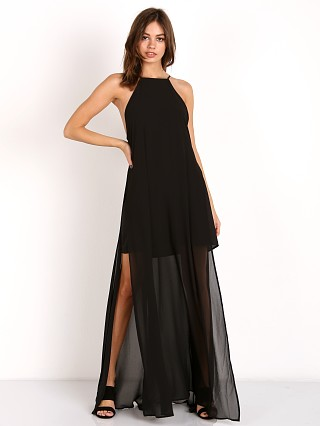 Show Me Your Mumu Bronte Maxi Dress Black