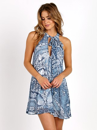 Show Me Your Mumu Tess Tie Front Dress Plenty Paisley