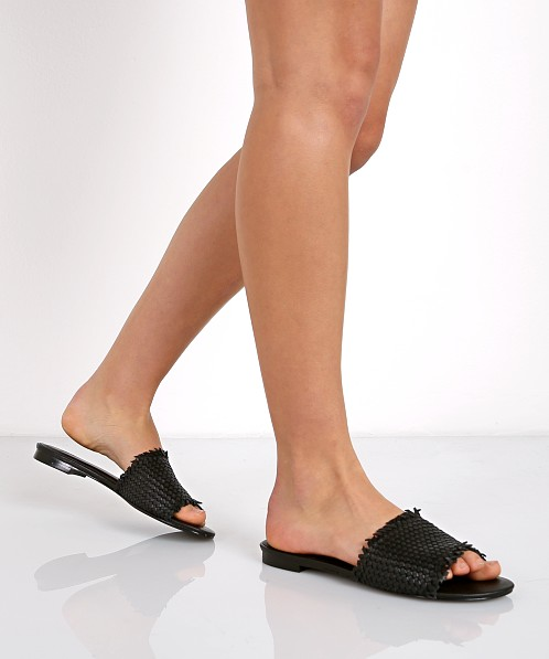 75301fbc1 Joie Fadey Leather Sandal Black SNA-2654 - Free Shipping at Largo Drive