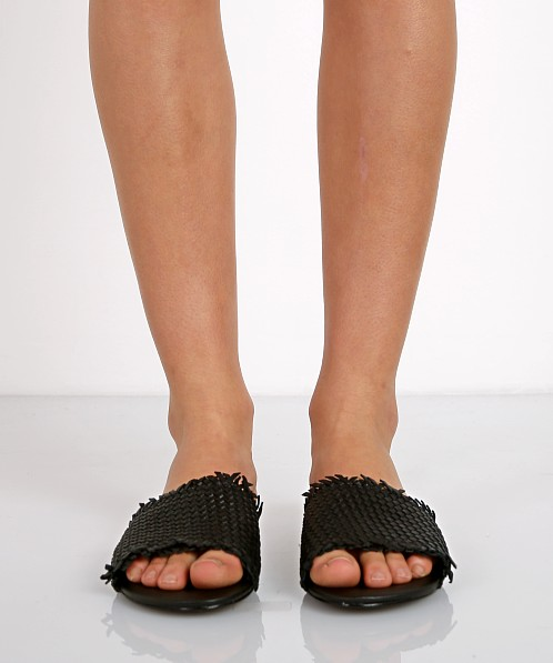 Joie Fadey Leather Sandal Black