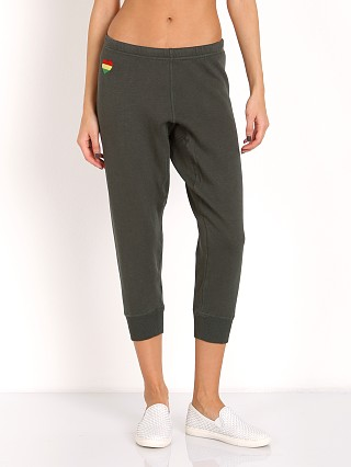 Spiritual Gangster Namaste Rasta Sweat Pants Smokey Emerald