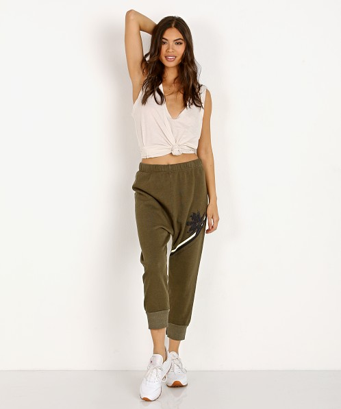 All Things Fabulous Stripes Pants Olive