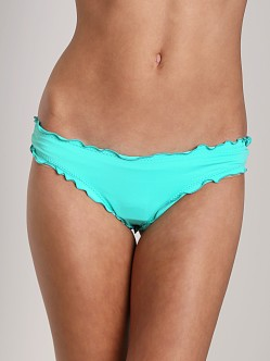 Vitamin A Silver Mint Rio Ruffle Scoop Bottom