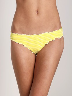 CA by Vitamin A Sunkissed Rio Ruffle Scoop Bikini Bottom