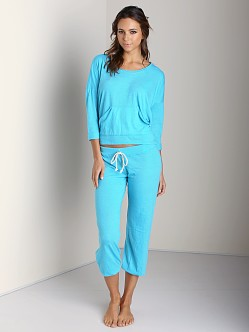 Nation LTD Medora Capri Sweats Marine
