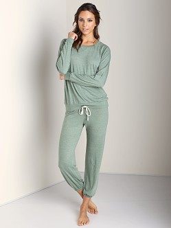 Nation LTD Medora Capri Sweats Leaf