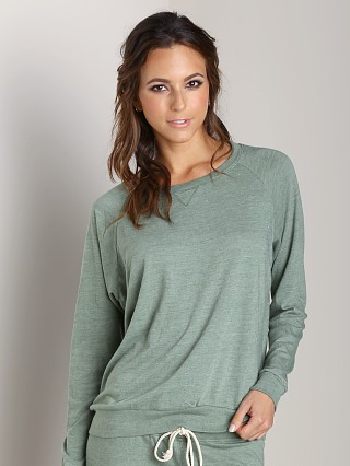 Nation LTD Raglan Sweatshirt Leaf