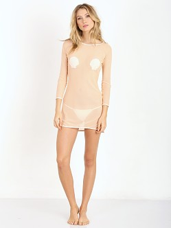 Minimale Animale Splash Mini Dress Pink Sand