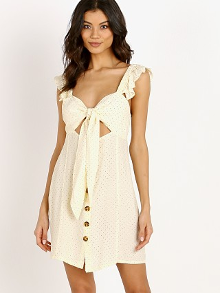 Rove Swimwear Gwen Dress Selita Polka Ivory
