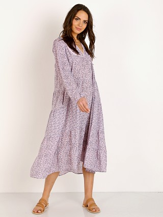 LACAUSA Savannah Dress Lavender