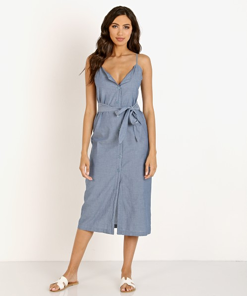 LACAUSA Bluebell Dress Chambray