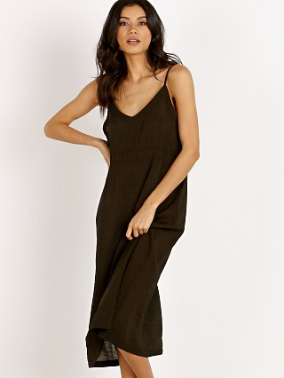 LACAUSA Alma Slip Dress Tar