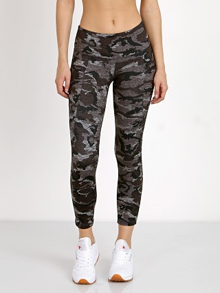 Strut This The Flynn Crop Grey Moss Camo