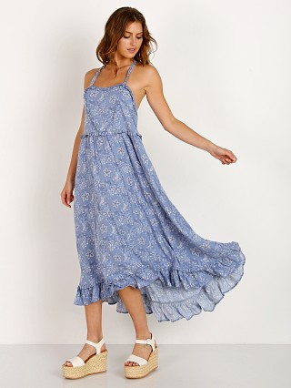 Spell & The Gypsy Celestial Midi Dress Chambray