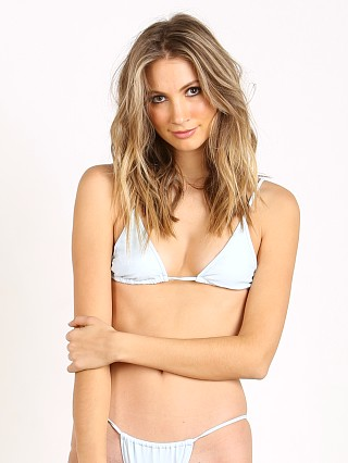 Minimale Animale The So Choice Bikini Top Blue Suede