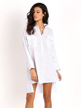 Faithfull the Brand Baia Shirt Dress Lee Stripe
