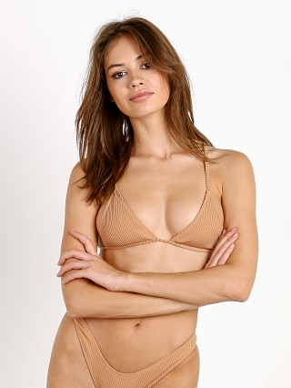 Minimale Animale The Lucid Rib Bikini Top Coconut