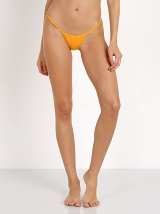 Minimale Animale The Lucid Rib Bikini Bottom Saffron