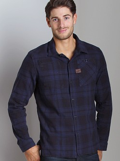 G-Star Aero Takeoff Check Shirt Python