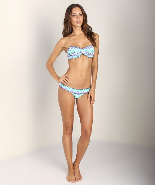 Sofia by Vix Mahal Rouched Bikini Bottom Aqua