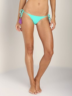 Sofia by Vix Solid Tie Side Bikini Bottom Aqua