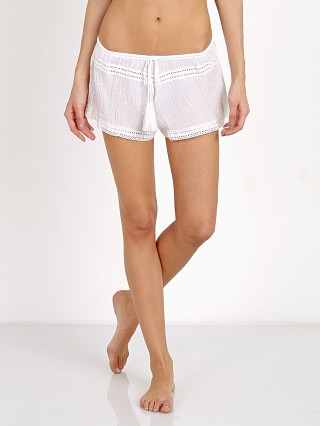 Eberjey Sea Breeze Pippa Shorts White