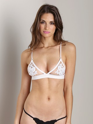 You may also like: SKIVVIES by For Love & Lemons Fleur Bra Ivory Nude