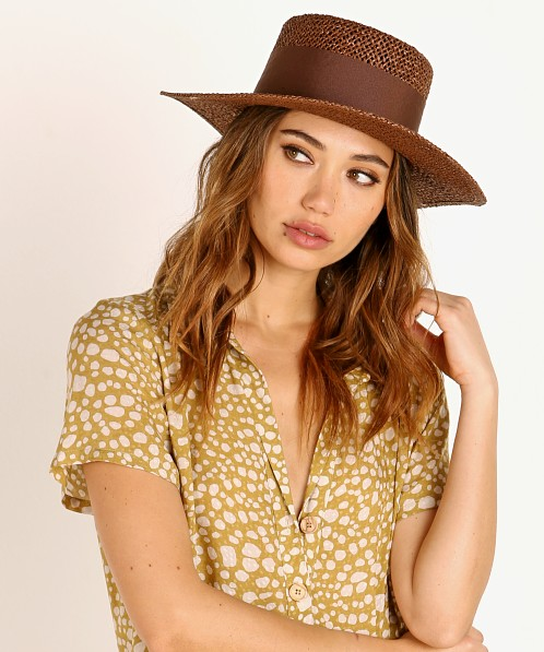 Brixton Dara Hat Brown