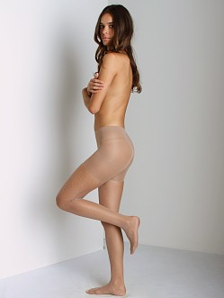 SPANX Side Seam Fishnet Nude