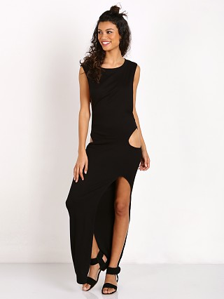 Indah Thea Maxi Dress W/ Cutouts Black
