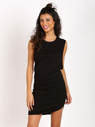 Indah Tallow Vest Mini Dress Black