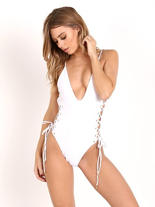 Blue Life Roped Up One Piece White
