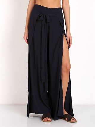 Indah Eclipse High Waisted Wrap Pant Sapphire